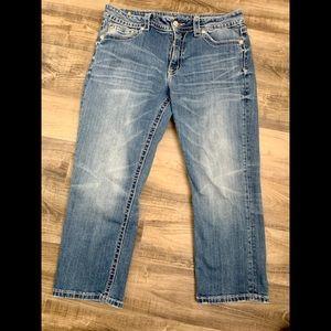Miss Me capri boyfriend jeans